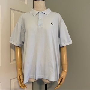 ⚠ Baby blue Lacoste polo